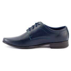 Lukas Sapatos de comunhão formal para crianças J1 azul marinho marinha 3
