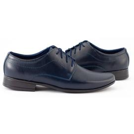 Lukas Sapatos de comunhão formal para crianças J1 azul marinho marinha 2