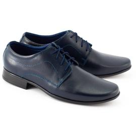 Lukas Sapatos de comunhão formal para crianças J1 azul marinho marinha 4
