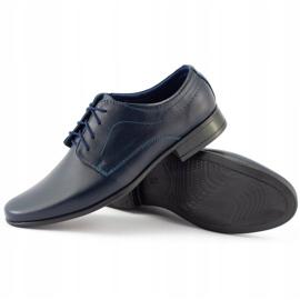Lukas Sapatos de comunhão formal para crianças J1 azul marinho marinha 5