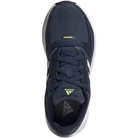 Tênis Adidas Runfalcon 2.0 K FY9498 preto azul marinho 1