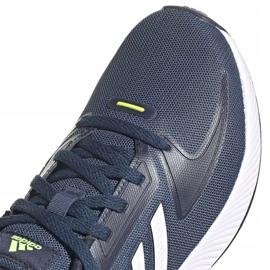 Tênis Adidas Runfalcon 2.0 K FY9498 preto azul marinho 2