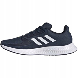 Tênis Adidas Runfalcon 2.0 K FY9498 preto azul marinho 3