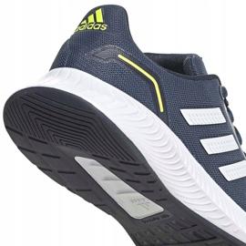 Tênis Adidas Runfalcon 2.0 K FY9498 preto azul marinho 4