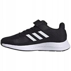 Sapatos adidas Runfalcon 2.0 Jr FZ0113 preto 2