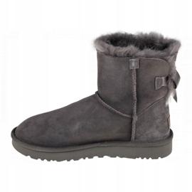 Sapatos Ugg Mini Bailey Bow Ii W 1016501-GREY preto 1
