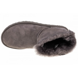 Sapatos Ugg Mini Bailey Bow Ii W 1016501-GREY preto 2