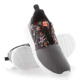 Sapato Nike Roshe One Print Jr 677782-004 branco 2