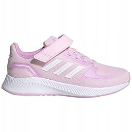 Sapatos adidas Runfalcon 2.0 C Jr FZ0119 preto rosa 1