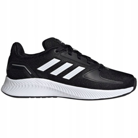 Sapatos Adidas Runfalcon 2.0 K Jr FY9495 preto azul 1