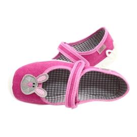 Calçados infantis Befado 114X430 rosa cinza 5