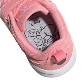 Sapatos infantis Adidas Tensuar C rosa FZ3212 branco 5