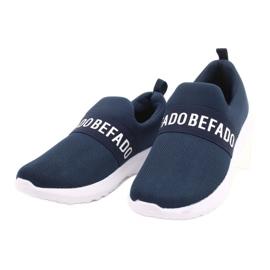 Calçados infantis Befado 516X082 azul 3