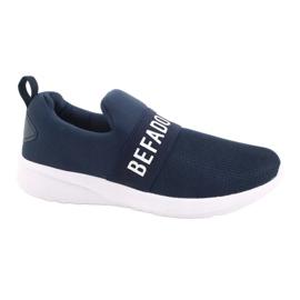 Calçados infantis Befado 516Y082 branco azul marinho 1