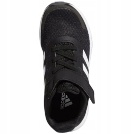 Sapatos Adidas Duramo Sl C Jr FX7314 branco preto 1