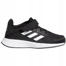 Sapatos Adidas Duramo Sl C Jr FX7314 branco preto 2