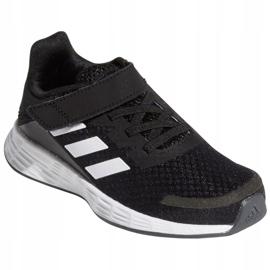 Sapatos Adidas Duramo Sl C Jr FX7314 branco preto 4
