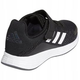 Sapatos Adidas Duramo Sl C Jr FX7314 branco preto 5