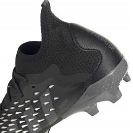 Chuteiras Adidas Predator Freak.1 Fg Junior FY1027 preto preto 8