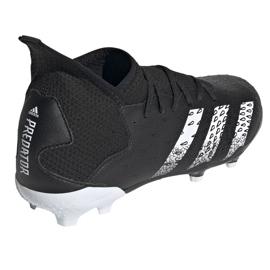 Chuteiras Adidas Predator Freak.3 Fg Junior FY1031 preto preto 4