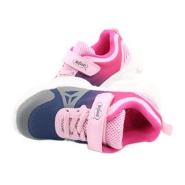 Calçados infantis Befado 516X054 azul marinho rosa cinza multicolorido 5