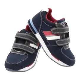 American Club Calçado desportivo americano RH24 Navy vermelho azul marinho 4