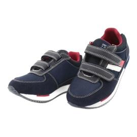 American Club Calçado desportivo americano RH24 Navy vermelho azul marinho 2