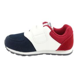 American Club Palmilha de couro BS01 BS02 Navy americana branco vermelho azul marinho 1