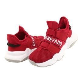 Calçados infantis Befado 516X064 vermelho 4