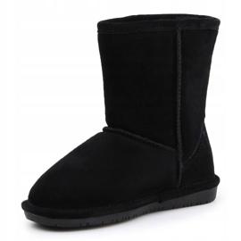 Sapatos BearPaw Black Neverwet Jr.608Y preto azul marinho 3