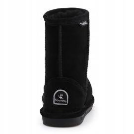 Sapatos BearPaw Black Neverwet Jr.608Y preto azul marinho 5