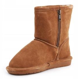 Sapatos BearPaw Hickory Ii Jr.608TZ castanho azul marinho 3