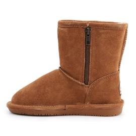 Sapatos BearPaw Hickory Ii Jr.608TZ castanho azul marinho 4