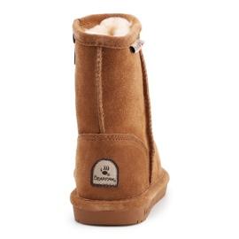 Sapatos BearPaw Hickory Ii Jr.608TZ castanho azul marinho 5
