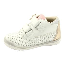 American Club Calçados Esportivos Com Velcro GC06 / 21 Branco e Dourado 1