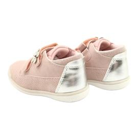 American Club Calçados Esportivos Com Velcro GC06 / 21 Rosa-Prata 5