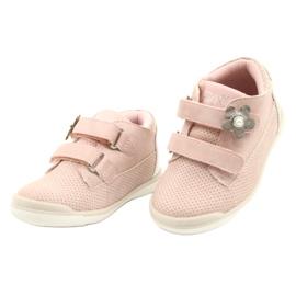 American Club Calçados Esportivos Com Velcro GC06 / 21 Rosa-Prata 2