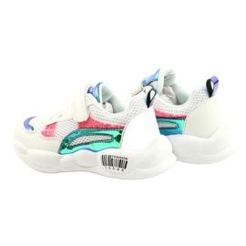 American Club Calçados Esportivos Halógenos da Moda ES23 / 21 branco rosa verde 5
