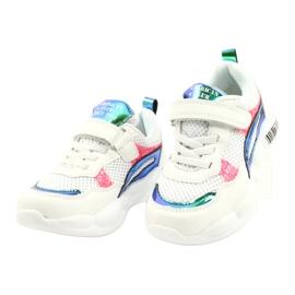 American Club Calçados Esportivos Halógenos da Moda ES23 / 21 branco rosa verde 2