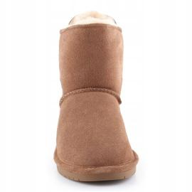 Sapatos BearPaw Mia Jr 2062Y-220 Hickory Ii branco castanho 1