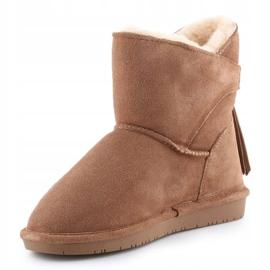 Sapatos BearPaw Mia Jr 2062Y-220 Hickory Ii branco castanho 2