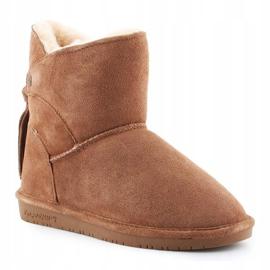 Sapatos BearPaw Mia Jr 2062Y-220 Hickory Ii branco castanho 3