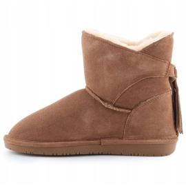 Sapatos BearPaw Mia Jr 2062Y-220 Hickory Ii branco castanho 4