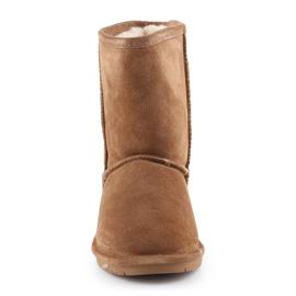 Sapatos BearPaw Emma Youth 608Y-920 W Hickory Neverwet castanho preto 1