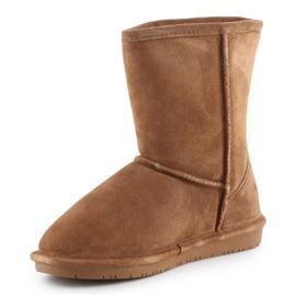 Sapatos BearPaw Emma Youth 608Y-920 W Hickory Neverwet castanho preto 2