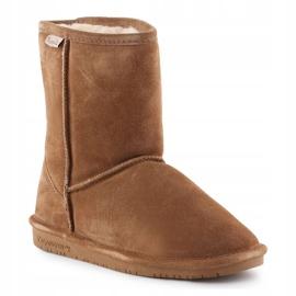 Sapatos BearPaw Emma Youth 608Y-920 W Hickory Neverwet castanho preto 3