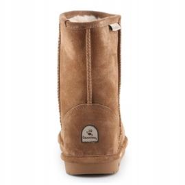 Sapatos BearPaw Emma Youth 608Y-920 W Hickory Neverwet castanho preto 5