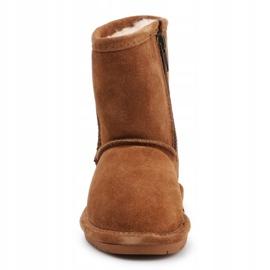Sapatos de inverno BearPaw Emma Toddler 608TZ castanho preto 1