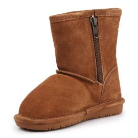 Sapatos de inverno BearPaw Emma Toddler 608TZ castanho preto 2