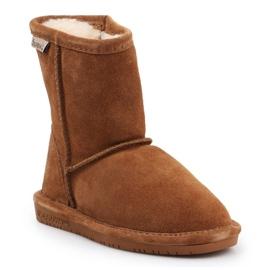 Sapatos de inverno BearPaw Emma Toddler 608TZ castanho preto 3